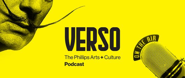 VERSO, a new arts and culture podcast from Phillips, brings together two art world figures for an intimate conversation about what's on their minds. Hosted by writer, actor, and storyteller Beth Lisick.