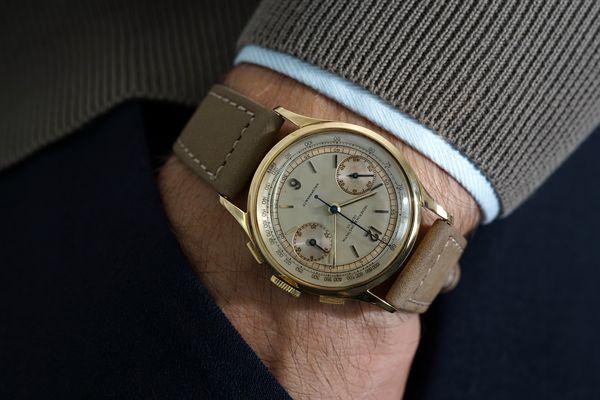 Vacheron Constantin Ref. 4072 chronograph sold by Hausmann