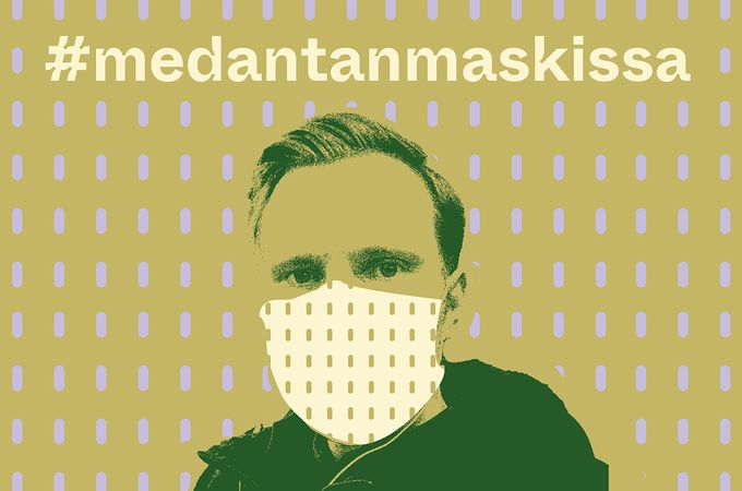 Ville Tolvanen Medantan maskissa