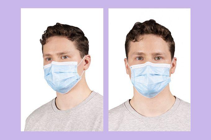 Kertakäyttöinen kirurginen FFP2-tason hengityssuojain suojaa käyttäjäänsä oikein käytettynä tehokkaasti koronaa vastaan.