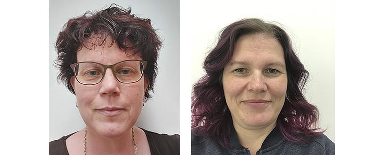 Kirjoittajat Anna Jeshoi ja Anna-Maria Moisander-Jylhä