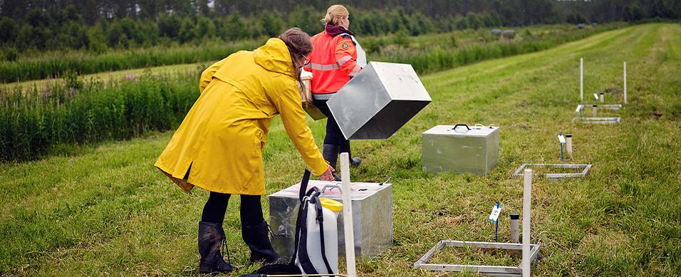 Kasvihuonekaasujen mittaus, Luonnonvarakeskuksen tutkija Janna Kekkonen