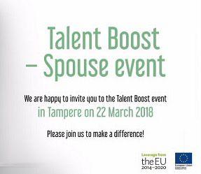 Talent Boost Spouse event - Hidden Gems 22.3.