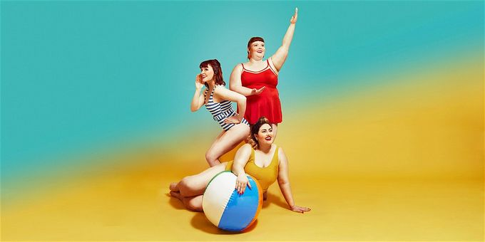 press image of beach body ready,  a play performed at Theatre Deli in Sheffield City Centre