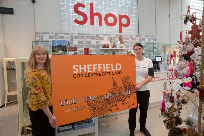 The Sheffield City Centre Gift Card