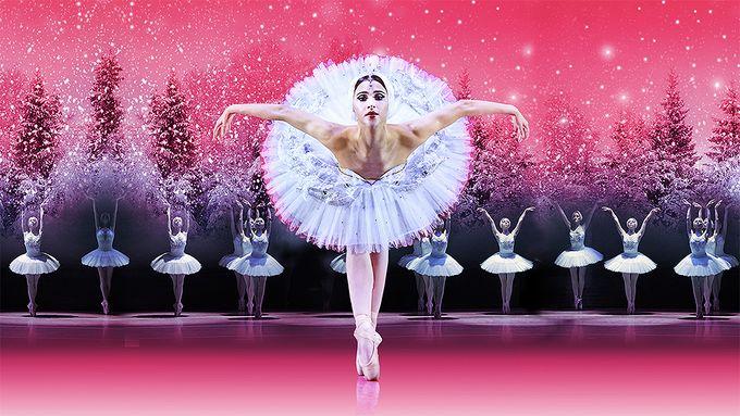 ballerina dancing swan lake