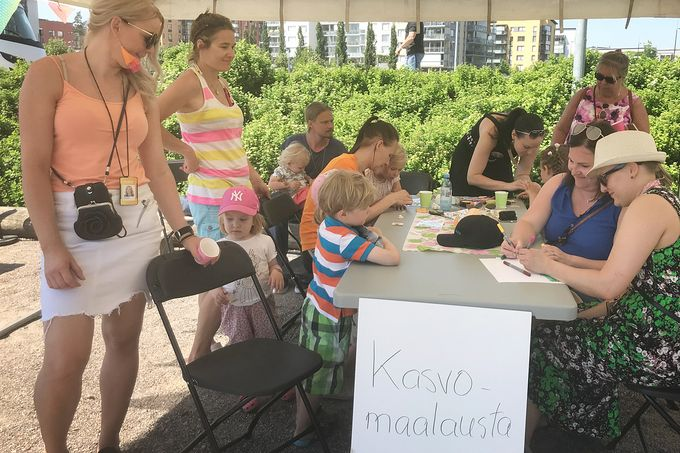 SATOja makuja -pihakestit | Helsinki