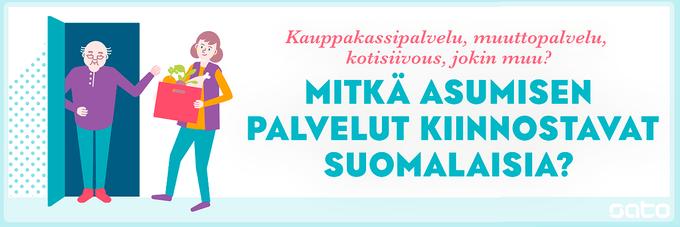 SATO | Mitkä vuokra-asumisen palvelut kiinnostavat suomalaisia
