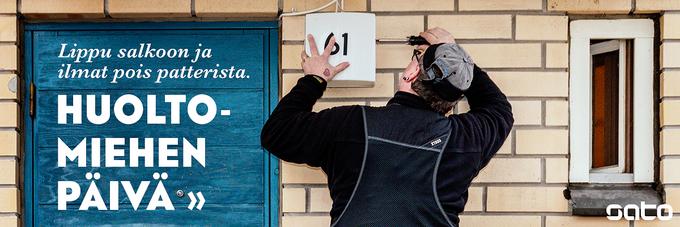Hannu Härkänen huolehtii kahdeksan SATOn vuokratalon asukkaista