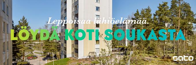 Löydä mukava vuokra-asunto | Espoo, Soukka