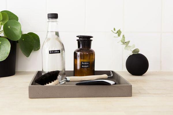 Etikkaa ja ruokasoodaa somissa astioissa | SATO VuokraKoti