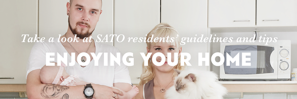 SATO's Enjoying your home guide for residents