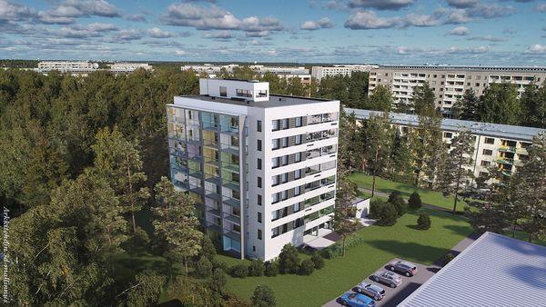 Kontulaan valmistuu uusia koteja kesällä 2020 | SATO VuokraKoti