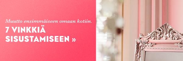 Lue Anita Koposen vinkit ensimmäisen oman kodin sisustamiseen