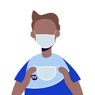 An stark frequentierten Orten wie Eingang, Empfang, Sitzungszimmer stehen Masken und Desinfektionsmittel für Mitarbeitende und Besucher bereit.